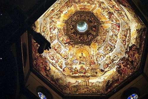 大聖堂の天井画