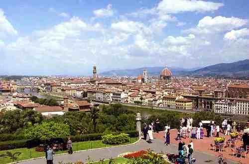 フィレンツェの街なみ