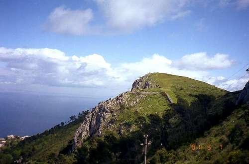 ソラーロ山頂上(リフトから)