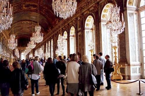 ヴェルサイユ宮殿、鏡の間