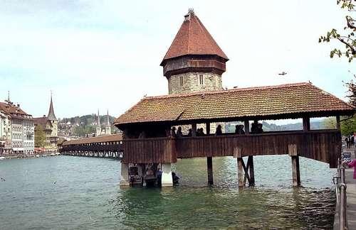 カペル橋と水の塔